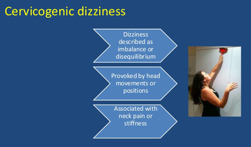 Cervicogenic Dizziness