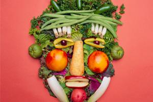 fruit-vegitable-face