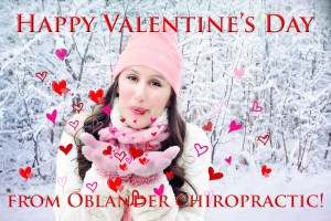 Happy Valentine's Day from Billings Chiropractor Dr. Oblander and our Staff at Oblander Chiropractic