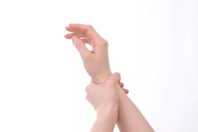腱鞘炎で手首が痛い