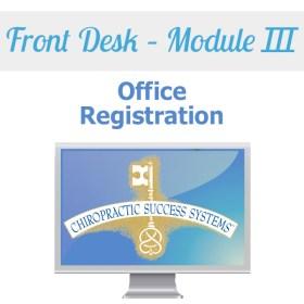 Front Desk Module III