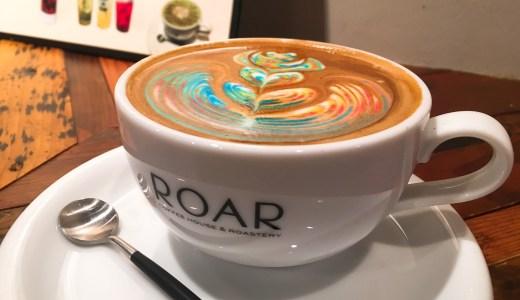 【東京】レインボーなアートのカフェラテ🎵インスタ映えだけじゃなかった。美味しい!『ロアコーヒーハウス』八丁堀に行ってきた🎵