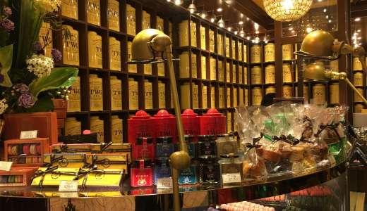 【シンガポール土産】お洒落で、美味しいTWGTeaは是非買って帰りたい!空港で買うのがお勧め!