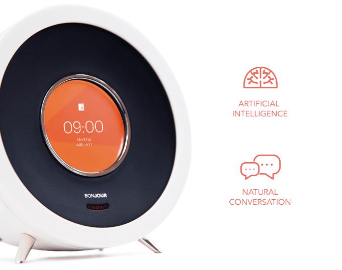 Bonjour smart alarm clock