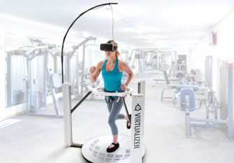 Virtual reality in fitness