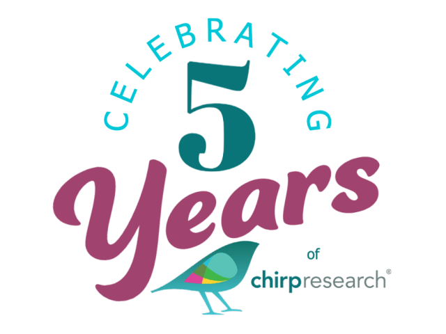Chirp Research is Five!