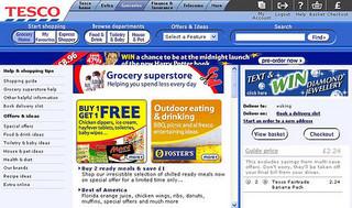 photo credit: Tesco grocery homepage 06/05 via photopin (license)