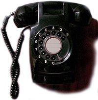 当院は黒電話ではありません