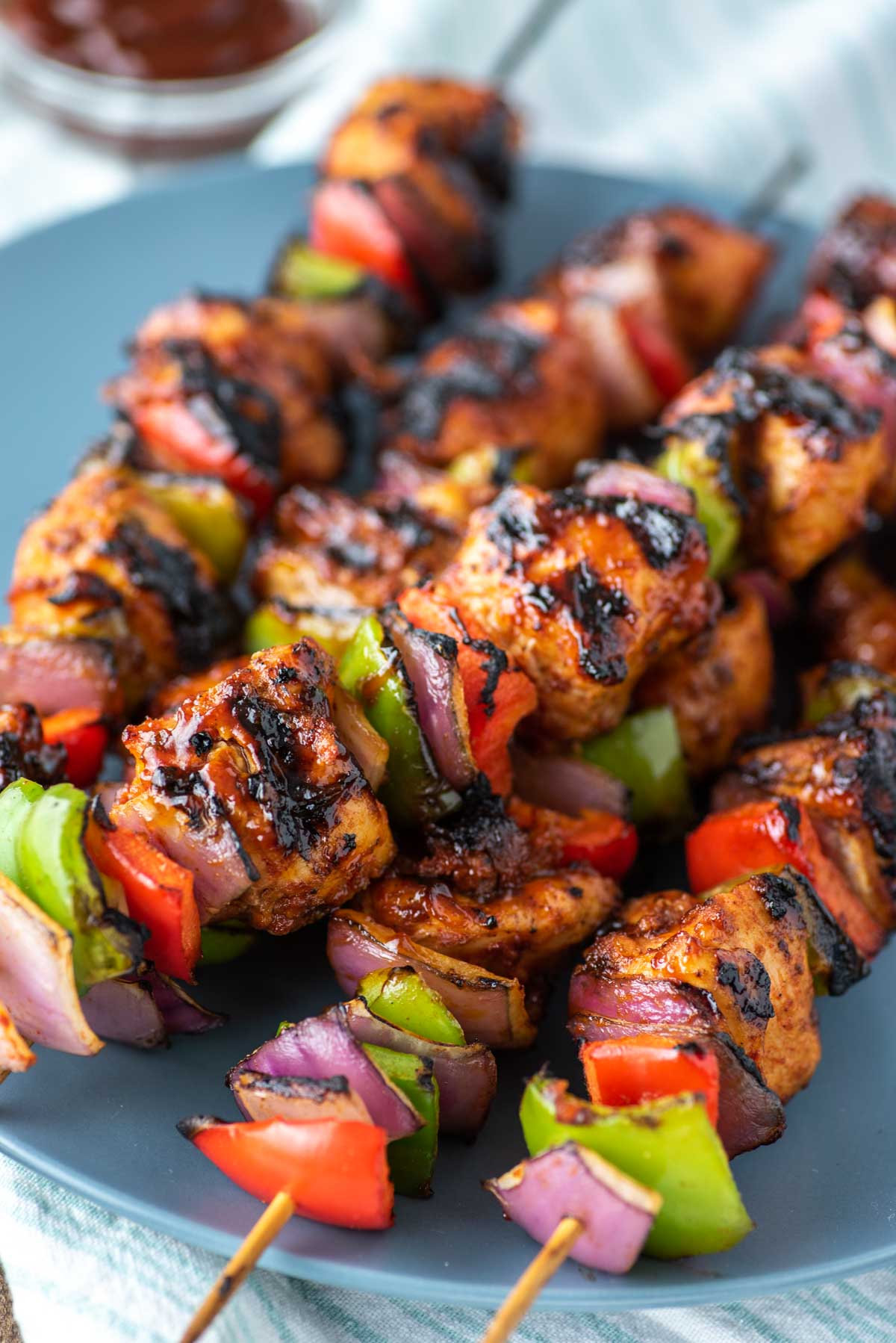 Bbq Chicken Kebabs Recipe Chisel Fork