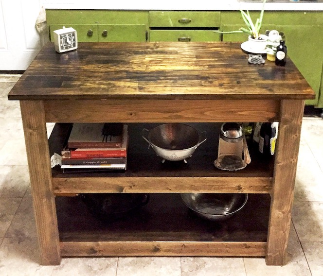 Kitchen Island Plans Step By Step Instructions Chisel Fork