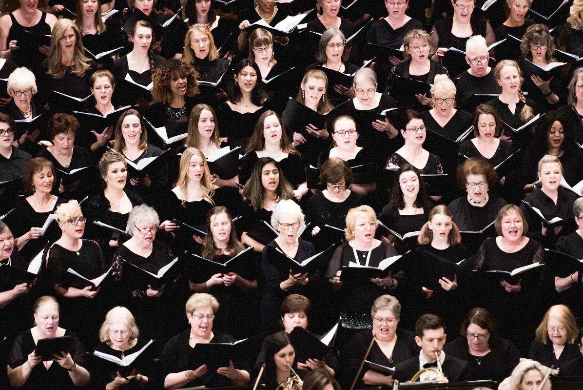 200 choir members - including Bosque County's FPC Chancel Choir - sing The Music of Joseph Martin at Carnegie Hall in New York City Feb. 17.