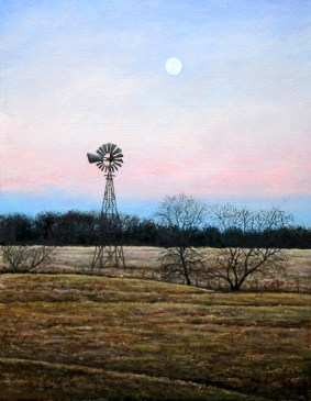 08-Moonlit Windmill-Lloyd Voges