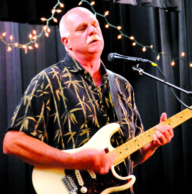 "Dennis Willingham of the DW Blues Band delivers a unique, smooth, bluesy groove as Central Texas' ""Slowhand."""
