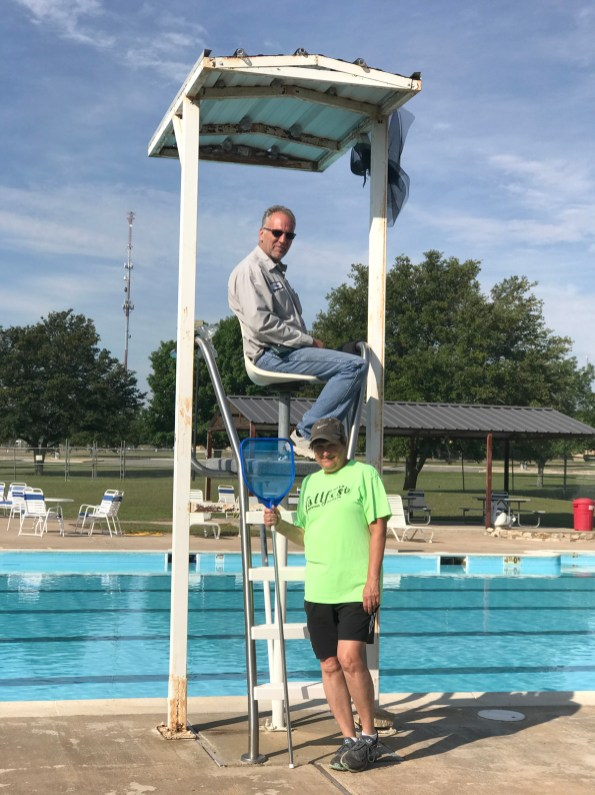 During operating hours seven days a week from 1-6 p.m., Olsen Pool will have a lifeguard on duty.