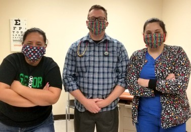 Goodall-Witcher Healthcare staff stands ready on the frontline of the novel coronavirus COVID-19 pandemic.