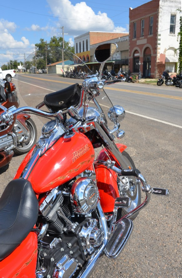 There are plenty of biker-friendly stops along the way in Bosque County.