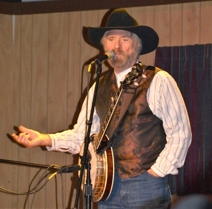 Michael Martin Murphey delivers intimate concert at the Bosque Arts Center after judging the 2018 Texas Troubadour Songwriter Classic.