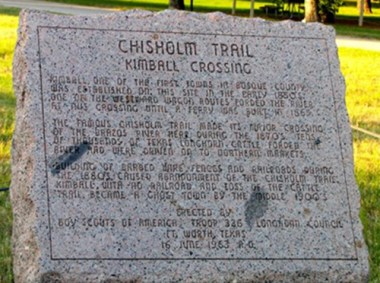 Chisholm Trail, Kimball Crossing