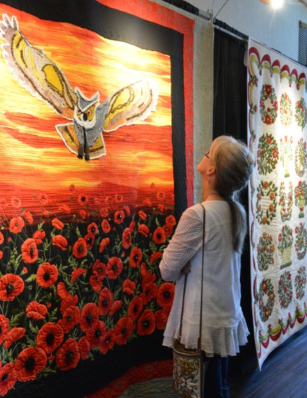 Due to the COVIC-19 pandemic restrictions and concerns, fans had to forgo seeing exquisite quilts at the Bosque Arts Center Quilt Show this year.