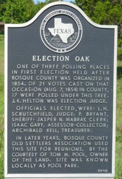ElectionOakMarker
