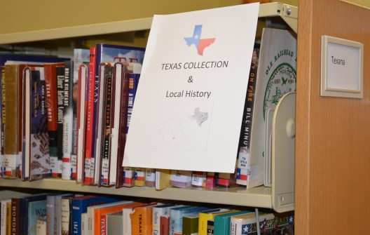 The Meridian Public Library has an extensive selection of books about Texas and local history.