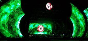 Sorprende montaje del escenario del Festival Presidente