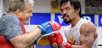 Pacquiao: Llamé a McGregor para una pelea en abril