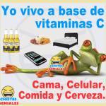 Yo vivo a base de vitamina C