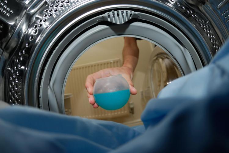 Πλύσιμο σακάκι με μια ζωή