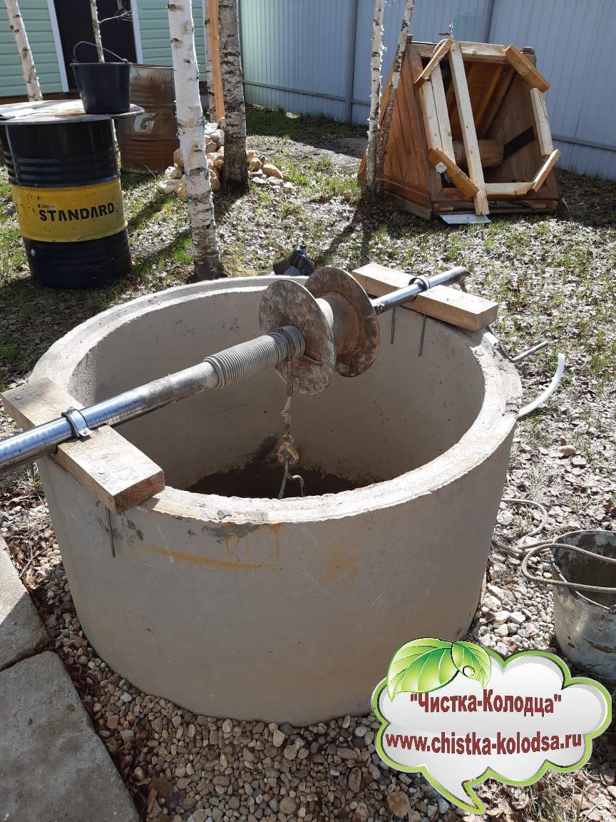 Очистка воды в колодце в Московской области и Москве