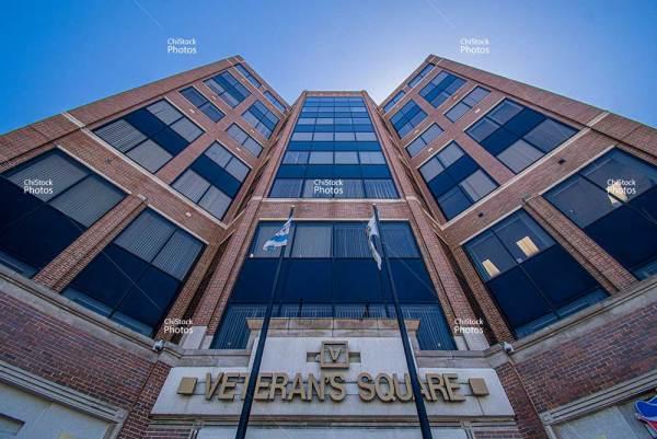 Chicago Jefferson Park Veterans Square Building