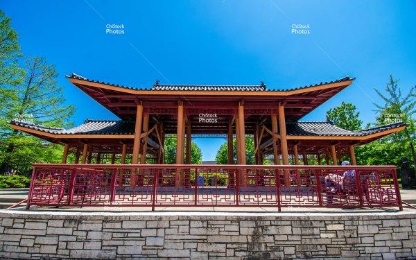 Ping Tom Memorial Park Pagoda