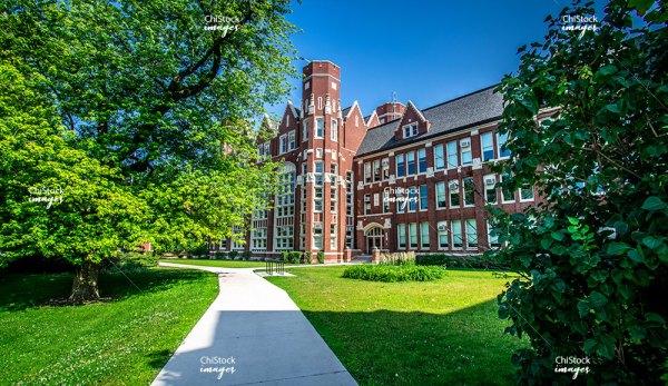 Lane Tech College Prep High School North Center Chicago
