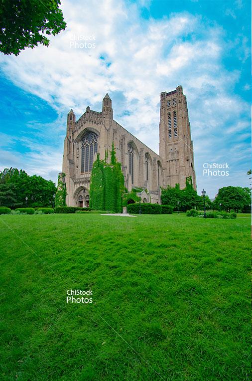The University of Chicago Rockefeller Memorial Chapel Midway Plaisance Hyde Park