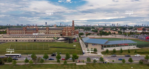 Lane Tech College Prep High School Kerry Wood Cubs Field- North Center Chicago