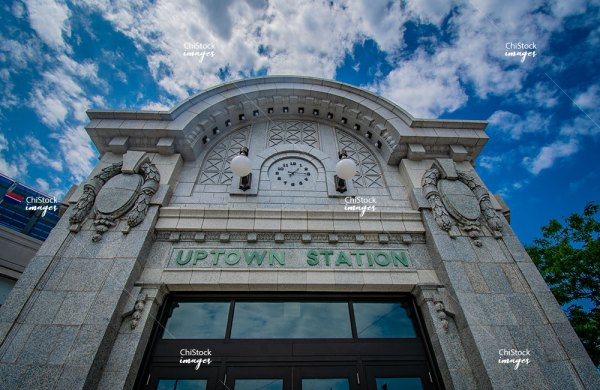 Uptown Station Signage on Broadway