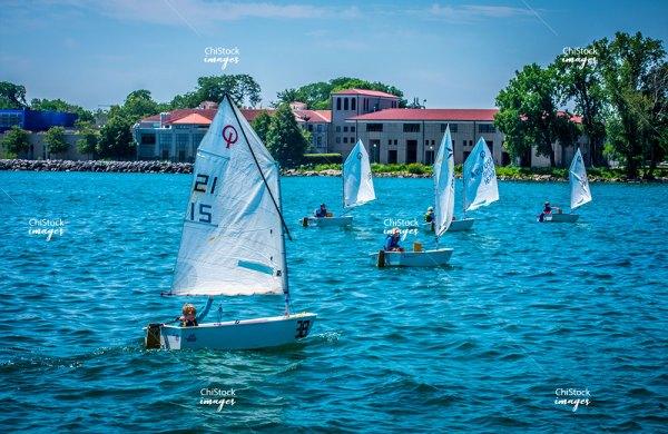 Young Boaters Near Jackson Park 63rd Street Beach