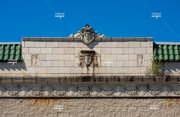Old Architectural Detail Archer Heights, Chicago