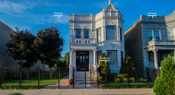 Two Flat Architecture North Lawndale Chicago