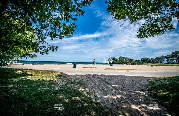 East 71st Street Beach South Shore Chicago