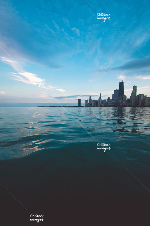 The Concrete Beach Near North Side Chicago