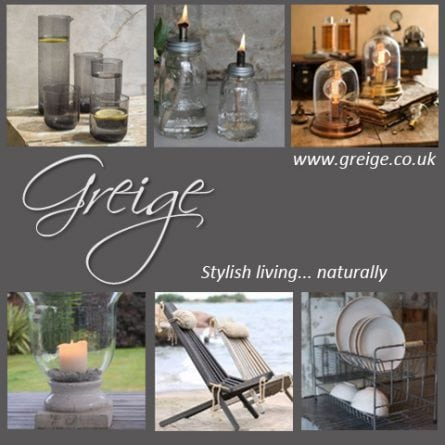 Club Card Offer 10% off stylish home ware from Greige at Bedford Corner