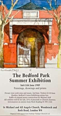 Bedford Park Summer Exhibition 1989