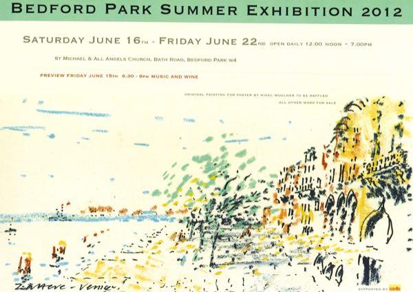 Bedford Park Summer Exhibition 2012
