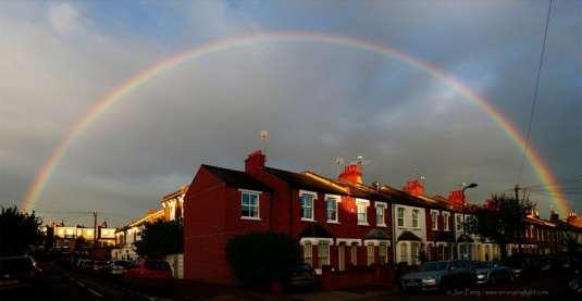Chiswick Calendar Photographers Jon Perry Somewhere Under the Rainbow