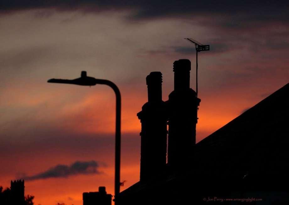 Chiswick Calendar Photographers Jon Perry Urban Sunset