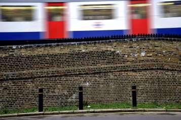 Chiswick Calendar Photographers Marianne Mahaffey Train passing