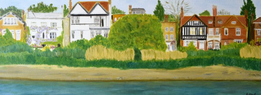 Chiswick in Pictures Natalia Bobrova Chiswick Eyot (view from Barnes)