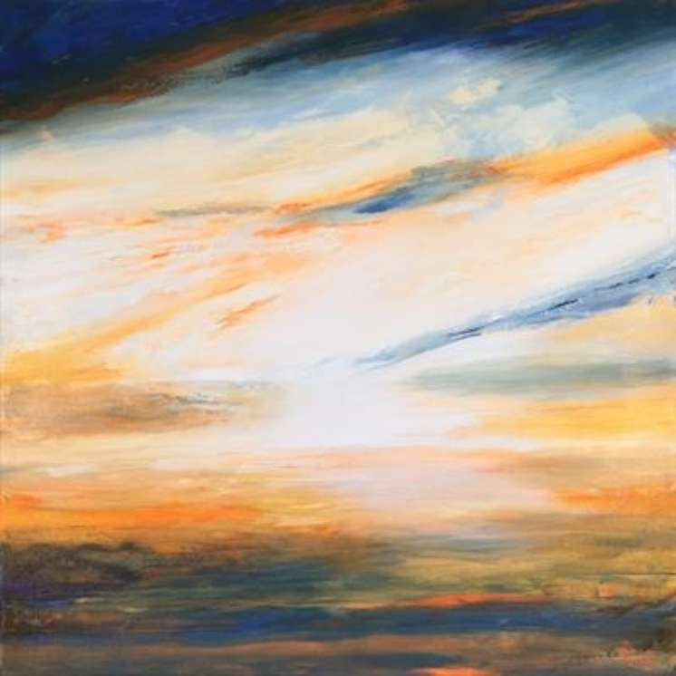 2015 Artists at Home Brian Davison 2, Sunset 03