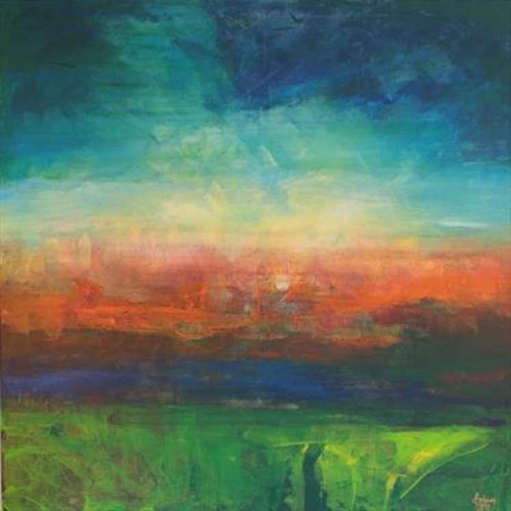 2015 Artists at Home Brian Davison 3, Sunset 04